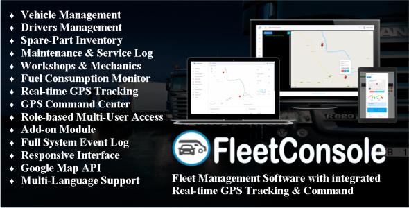 Fleet Management Software + GPS Tracking